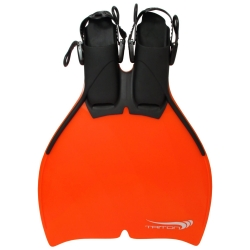 Monoflosse Triton Orange für Kinder 34-38 Mako H2O Mermaid Meerjungfrau